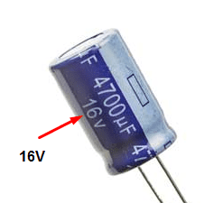 Check & Test a Capacitor by Simple Voltmeter.